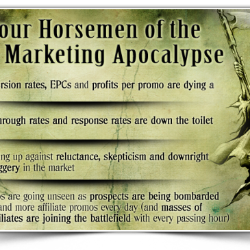 The 4 Horsemen of the Affiliate Marketing Apocalypse